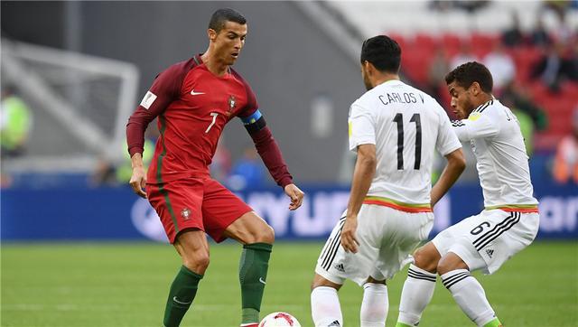 联合会杯-C罗神助 葡萄牙补时丢球2-2墨西哥