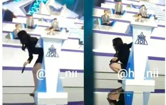 韩星宝儿穿高跟鞋直播3小时虚脱 网友:很敬业