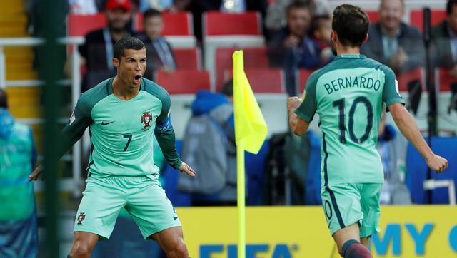 俄罗斯主场0-1不敌葡萄牙 C罗头球破门制胜