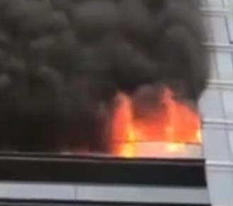 杭州千万豪宅失火