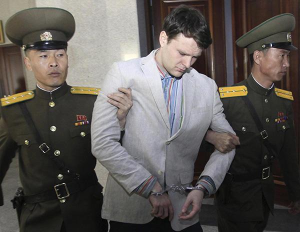 """瓦姆比尔最新报道 朝鲜首次回应""""虐待美国学生致死""""称造谣"""