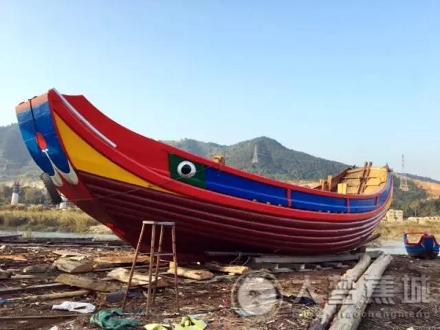赞!大漳湾的丹阳福船出库啦 完工后将从宁德出航