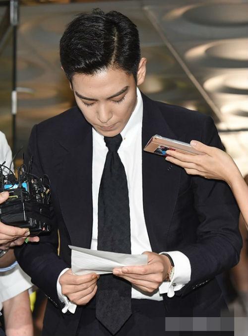 BIGBANG成员T.O.P道歉 T.O.吸毒原因曝光:因压力心理状态不稳定