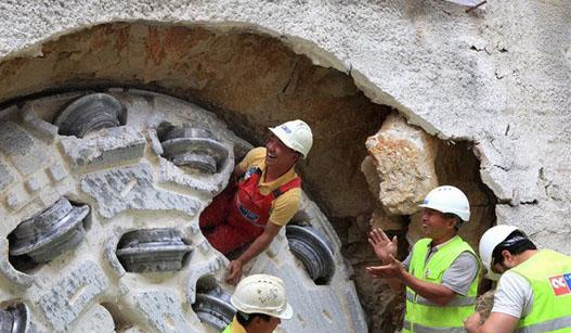 中国设备助力黎巴嫩饮水工程建设