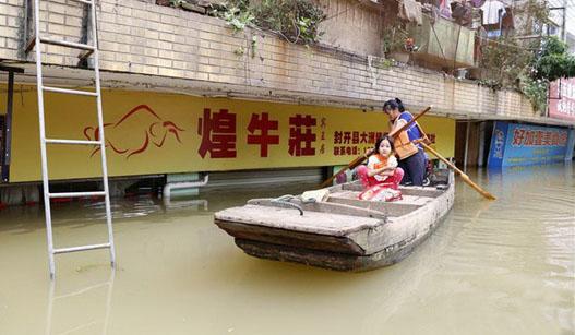 广东西江江口将出现洪峰