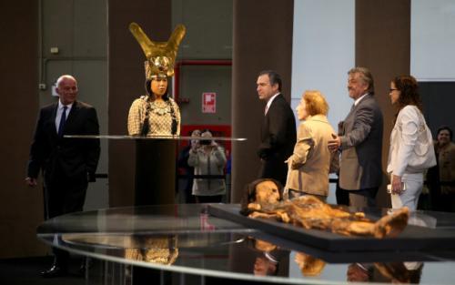 """国外科学家用3D技术 重现秘鲁1700年前""""卡奥夫人""""容颜"""