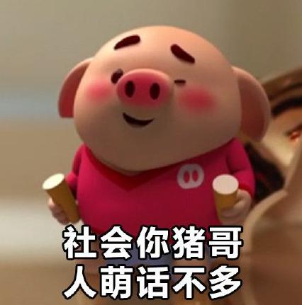 猪小屁是?猪小屁表情可爱猪小屁表情唔好看表情包qq图片