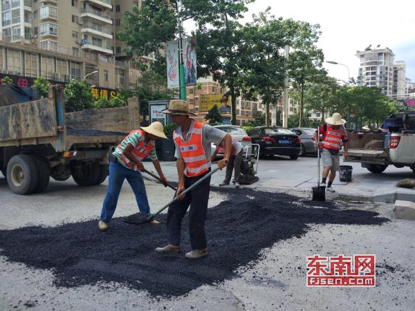 7月6日起 莆田中心城区12条主干道受损路面将修复