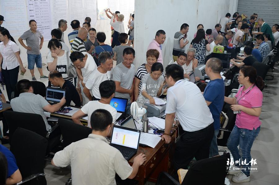 福州台江红星及周边地块改造项目签约 人性化服务获赞