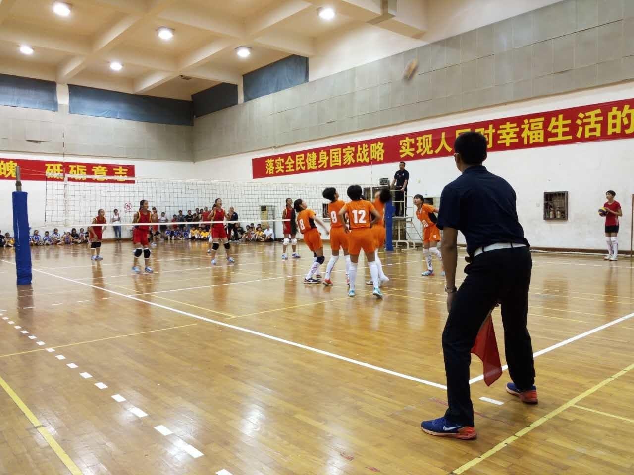 2017年福建省少儿排球比赛圆满落幕