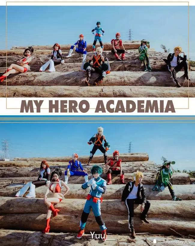 我的英雄学院战斗服全员cosplay 成片太帅仿佛跨越了次元
