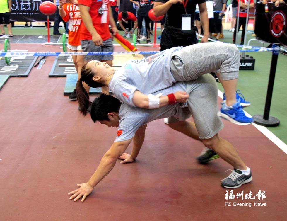 全国首个省级体能赛事在福州举行 奥运冠军参赛