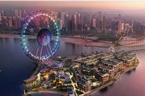 """""""迪拜眼""""明年竣工 203米将成为世界最大摩天轮"""