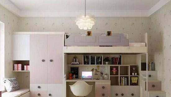 衣柜床一体设计让有限的空间更精彩