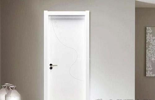 女性青睐的现代感白色门 打造奢华繁复外现代感