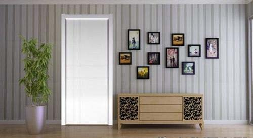 时髦女性最爱的现代感白色门