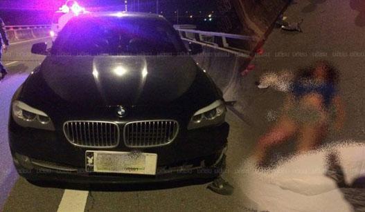 泰国16岁女孩高速路上自拍 被宝马撞亡
