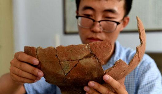 河南鹤壁再次考古发掘刘庄遗址