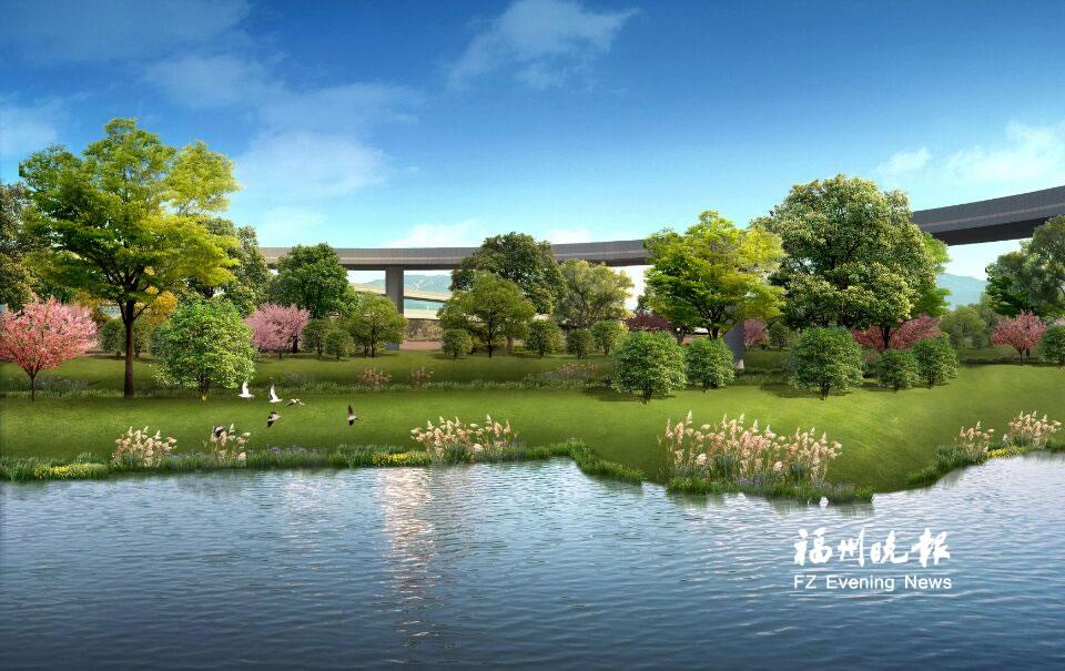 福州晋安东区水系治理新增连潘河 11条河道已开工
