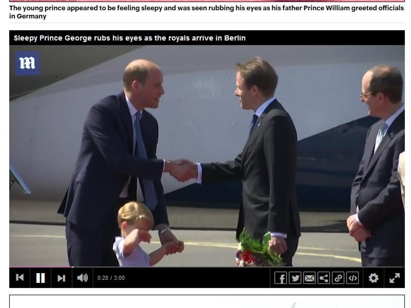 """英国脱欧谈判已正式展开 威廉王子偕家人访德国展开""""魅力攻势"""""""