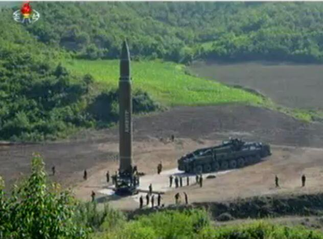 朝鲜试射导弹近况 美情报显示朝鲜正在准备进行新的导弹试射