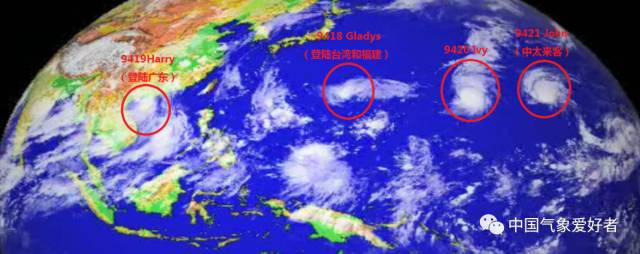 """99w台风本周末要给福州降温?可惜现在它还只是个""""宝宝"""""""