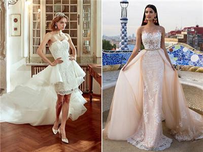 今年新娘婚紗流行的5大趨勢 不可錯過的婚紗禮服