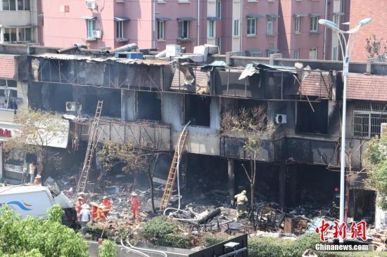 杭州店铺燃爆事故最新进展:又有7人出院 33人留院治疗