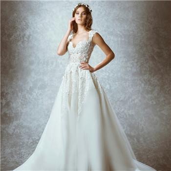 2017年流行的新娘婚紗款式有哪些? 新娘該如何選