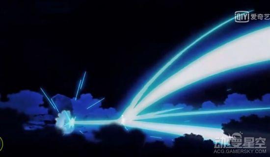 龙珠超动画战力设定用来搞笑的?超蓝悟空打不过女超级赛亚人