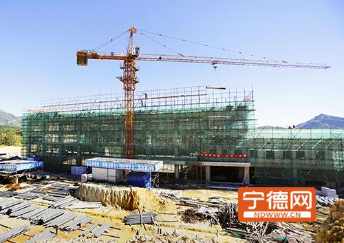宁德周宁体育馆预计10月底竣工 验收后投入使用