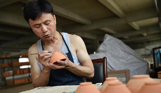 """""""曜变""""建盏:千年瓷艺的复原与传承"""