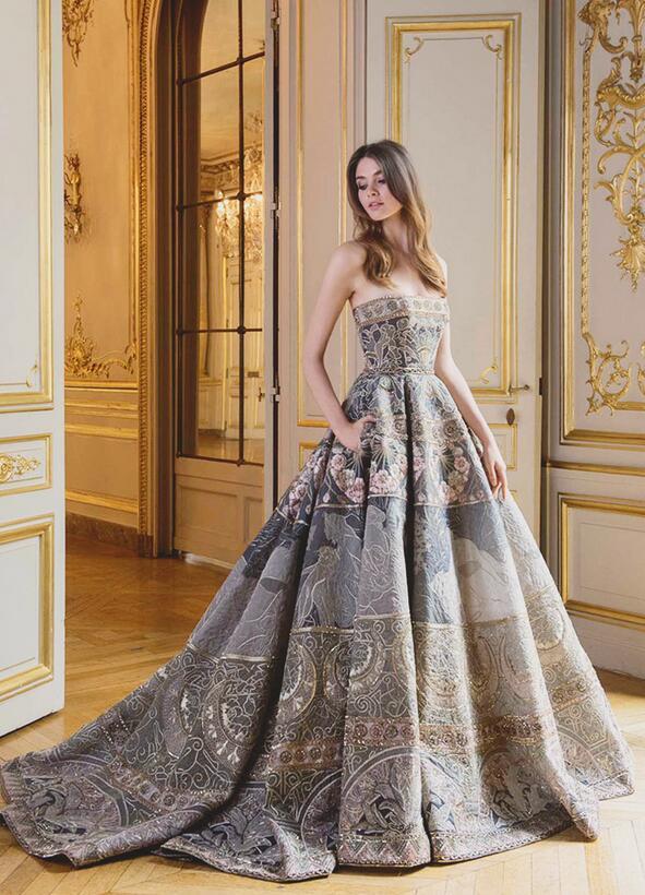 誰說澎裙一定要走可愛風 前衛時尚的個性澎裙婚紗