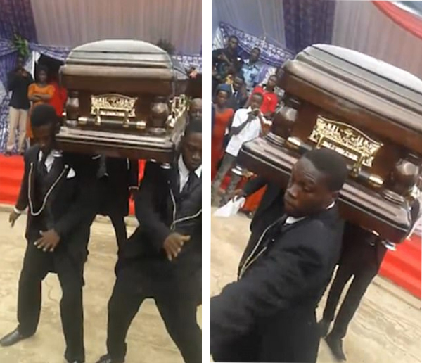 别样葬礼!加纳举办抬棺人舞蹈派对来纪念逝者
