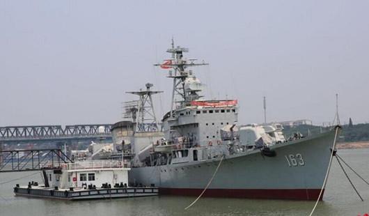 八一献礼 南昌舰回到人民军队第一故乡