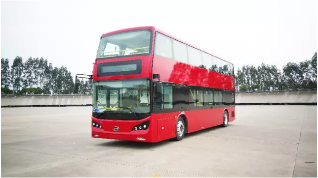 平潭引入双层观光巴士 在最美环岛路赏山海奇景