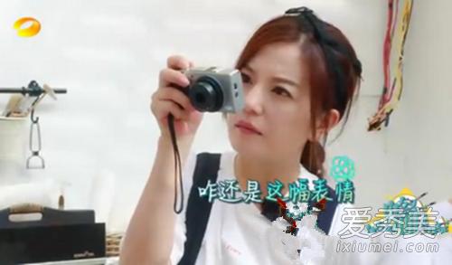 中餐厅第三期赵薇相机是什么牌子 赵薇用的是哪款相机