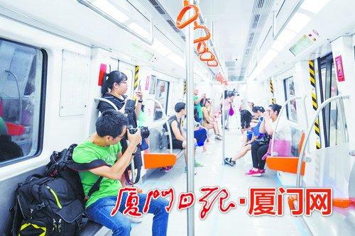 """厦门地铁1号线开始""""跑图"""" 其间不对外载客"""