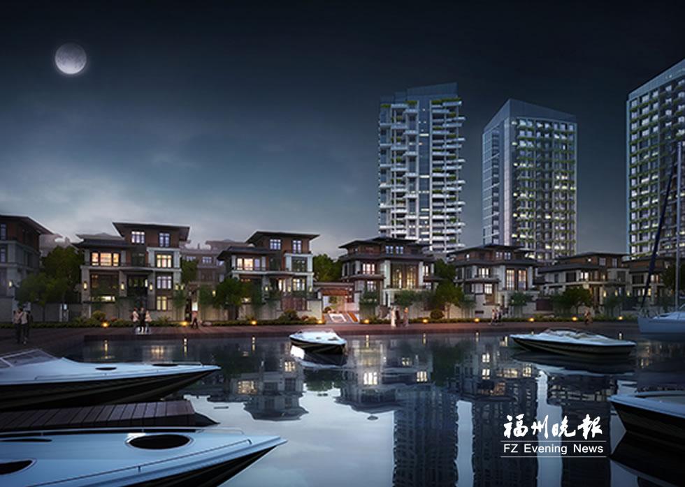 马尾首个游艇项目拟建68个泊位 预计后年完工