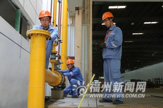 """福州推行""""煤改气"""" 让更多乡镇用上天然气"""