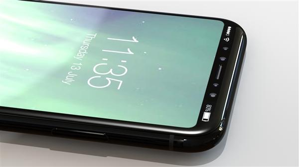 别被苹果骗!iPhone 8屏幕玻璃曝光:亮屏美如画