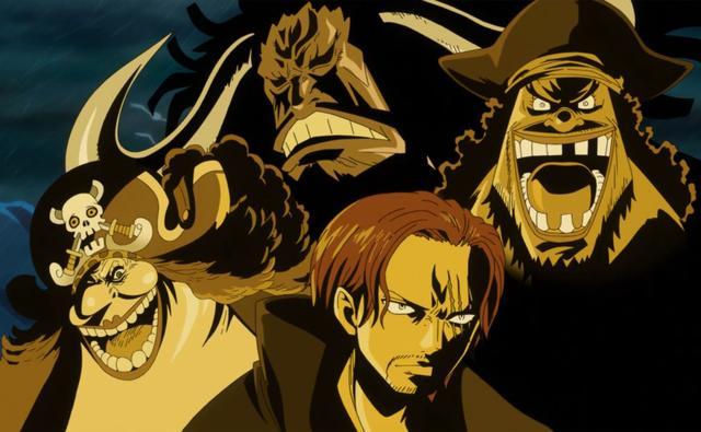 海贼王四皇篇分析:四皇中,谁会是第一个被团灭?