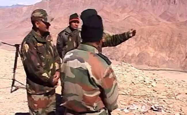 中印边境对峙最新消息 印度驻锡金段第33军军演