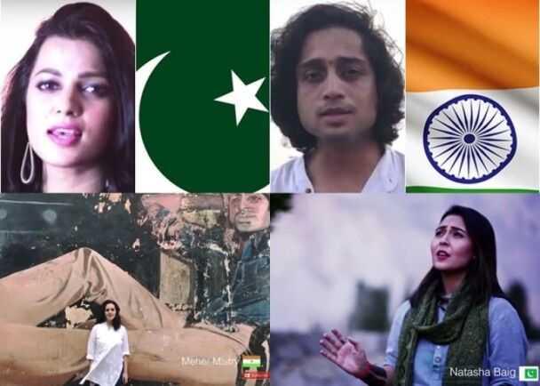 印巴歌手异地合唱呼吁和平 混合版《和平国歌》网上爆红