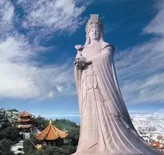 莆田火车站将打造32米妈祖金身雕像 投资近亿