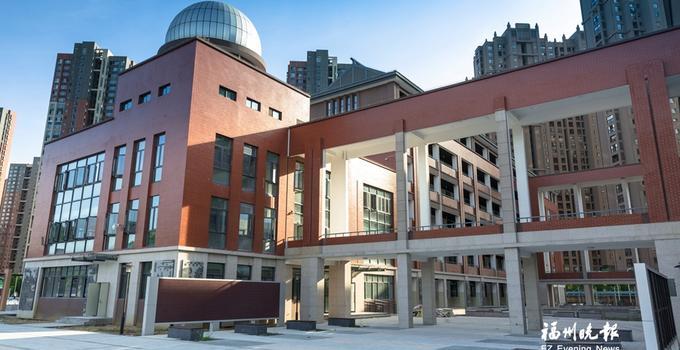 闽侯昙石山中学新校区9月启用 建筑风格具有古典气息