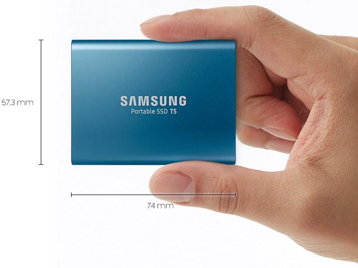 三星发布新款超高速便携式SSD产品T5 传输速度可达540MB/s
