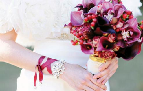 神秘紫色主題婚禮怎么布置 打造夢幻的紫色婚禮