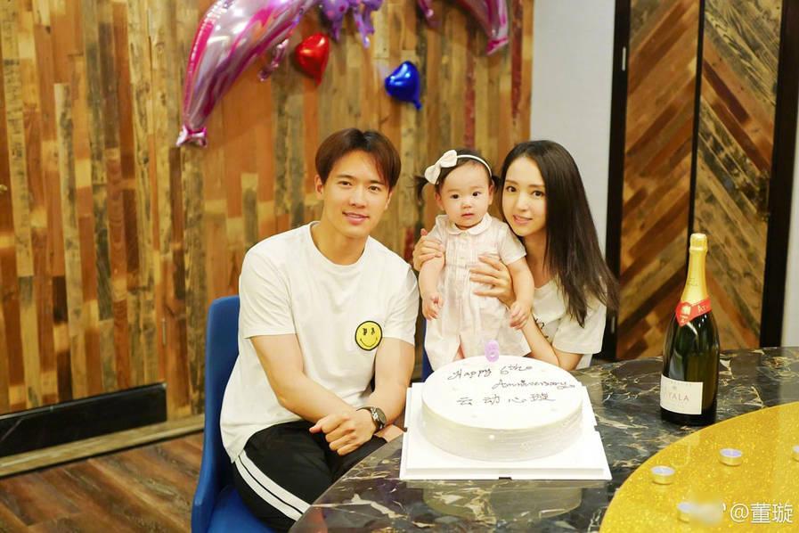高云翔董璇庆祝结婚六周年 老公爆料想要二胎
