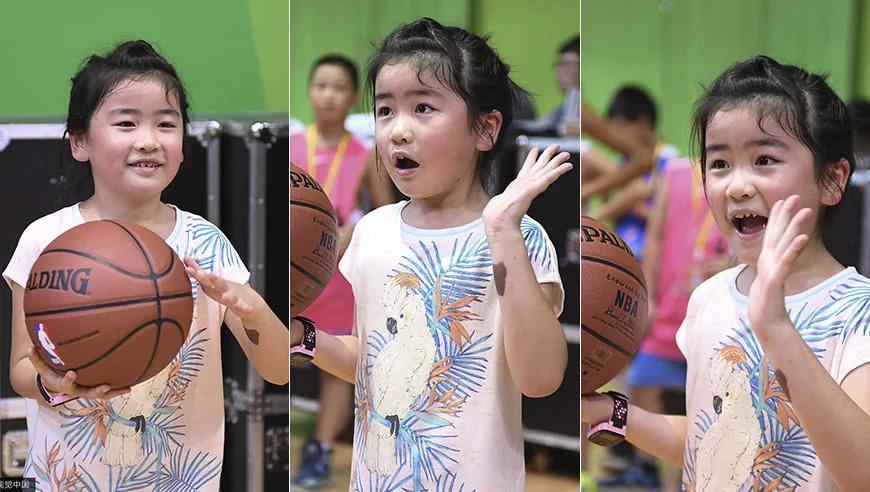 网友认为姚明女儿球场炫技有乃父之风 她会女承父业吗?